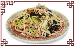 Салат овощной с говяжьим языком (360г)