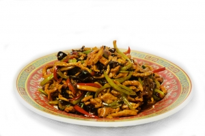 Свинина в остром кисло-сладком соусе по-Сычуаньски (350г)