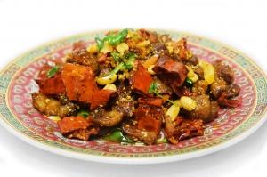 Желудочки куриные с хрустящим перцем (350г)