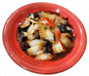 Рис с овощами и креветками (250г)