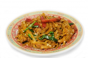 Лапша рисовая с овощами (350г)